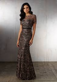 modern mother of the bride dresses tea length with sleeves mgny collection evening gowns u0026 formal dresses morilee part 2