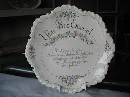plate you are special you are special plate
