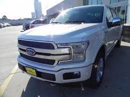 2018 ford f150 platinum 5 miles white platinum tc crew cab pickup