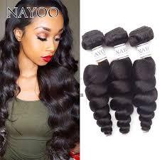 pics of loose wave hair nayoo hair 8a grade brazilian loose wave hair 3 bundles remy human