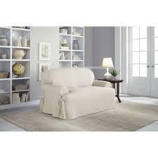 2 Piece T Cushion Loveseat Slipcover Loveseat Slipcovers You U0027ll Love Wayfair