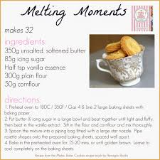 sermes cuisine melting moments biscuit recipe delicious and easy bake a rama