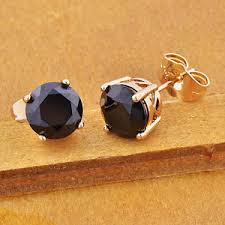black onyx stud earrings mens black onyx stud earrings boy earings piercing small ear