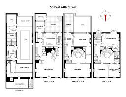 Lenox Floor Plan Lavish Upper East Side Mansion On U0027bankers U0027 Colony U0027 Returns For