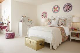 Simple White Bed Frame Bedroom Amazing Vintage Teenage Bedroom Decoration With