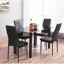 glass dining room sets glass dining table sets wayfair co uk