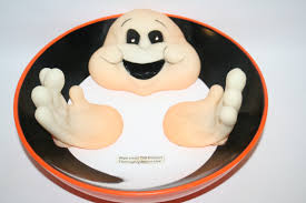 halloween bowl with grabbing hand gemmy animated halloween ghost candy dish bowl trick or treat