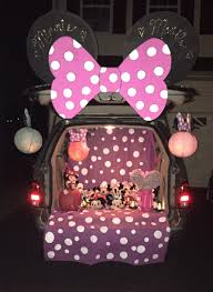 minnie mouse trunk or treat halloween pinterest minnie mouse