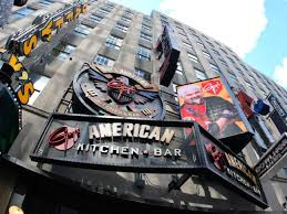 Food Network Com Kitchen by Guy U0027s American Kitchen U0026 Bar Look Inside Guy Fieri U0027s New York