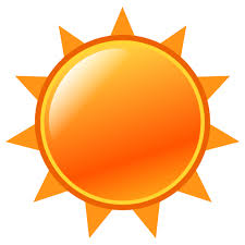 black sun with rays emoji for email sms id 12515