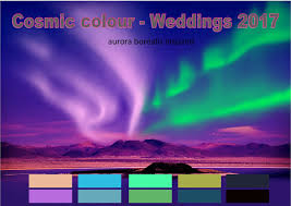 elect training academy wedding trends for 2017 cosmic color palette