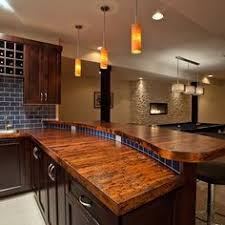 kitchen bar top ideas bronze copper paneling counter on bar side for the home