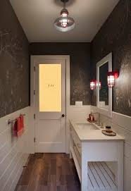 Powder Room Decorating Ideas Contemporary Best 25 Narrow Bathroom Ideas On Pinterest Small Narrow