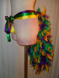 diy mardi gras costumes bustle tutu showgirl burlesque tie ribbon mardi gras costume