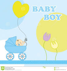 baby boy birthday card stock vector image of happiness 45201289