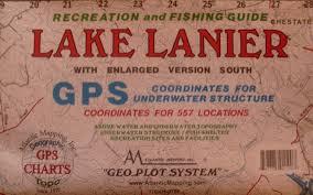 Lake Lanier Map Lake Seminole Fishing Map 313 What U0027s It Worth