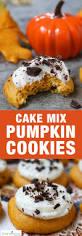 Halloween Cake Mix Cookies by Pumpkin Cookies Easy Cake Mix Cookies Recipe