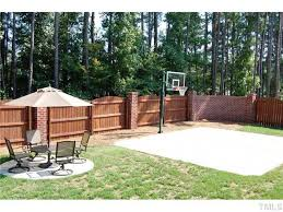 Sports Courts For Backyards Best 25 Backyard Basketball Court Ideas On Pinterest Outdoor