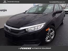 2017 honda civic sedan 2017 used honda civic sedan lx cvt at honda mall of georgia