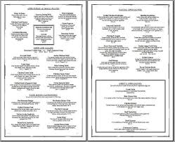 free menu templates printable best 25 printable menu ideas on