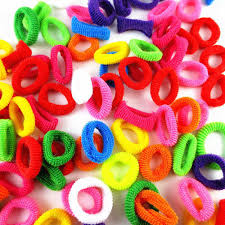 hair rubber bands colorful hair rubber bands at rs 35 pack hair bands id