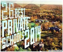 26 best private schools 2014 successful student