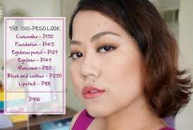 Challenge Up Nose Challenge The 1000 Peso Makeup Look Project Vanity