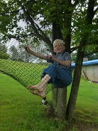 growing up mormish trampoline net turned hammock