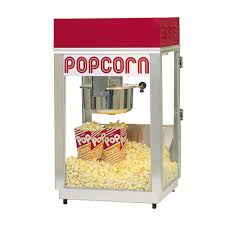 Old Fashioned Popcorn Machine Popcorn Machine Rental From American Carnival Mart