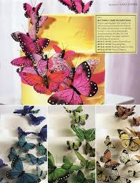 Wedding Decorations Butterflies 44 Best Butterfly Cakes Images On Pinterest Butterfly Cakes
