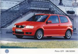 gti volkswagen 2000 polo gti 06 auto cars
