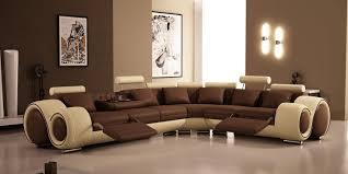 brown livingroom living room sleek modern brown living room with glossy floor and