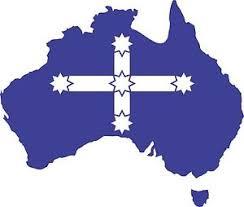 australia and eureka flag decal sticker car ute aussie pride