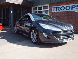 peugeot rcz 2017 used peugeot rcz cars for sale motors co uk