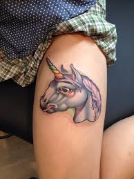 35 unicorn tattoos ranging from majestic to malicious