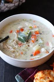 turkey pot pie soup handle the heat