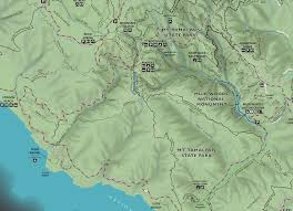 First Landing State Park Trail Map by Muir Woods Maps Npmaps Com Just Free Maps Period