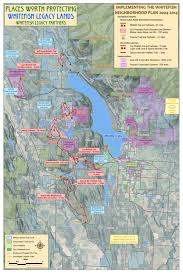 Beaver Lake Map Whitefish Legacy Partners Conservation