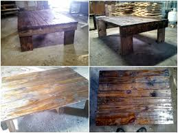 simple medium sized coffee table made from pallets u2022 1001 pallets