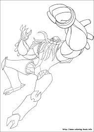 ben 10 omniverse coloring book games ben ten arms coloring