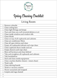 living room checklist spring cleaning checklist living room organise it all
