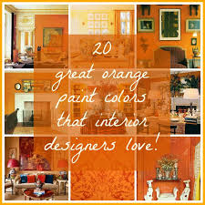 Best  Orange Wall Paints Ideas On Pinterest Painted Wall Art - Bedroom orange paint ideas