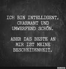 intelligente sprüche ich bin intelligent charmant und umwerfend schön lustige