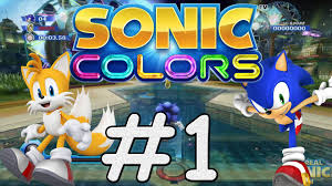 sonic colors 1 tropical resort youtube