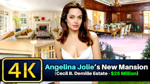 cecil b demille estate angelina jolie s new mansion 2017 cecil b demille estate 25