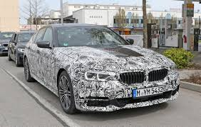 spyshots 2017 bmw 5 series shows front bumper m sport pack and