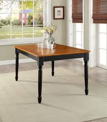 stained table top painted legs kitchen autumn lane farmhouse bench and table mix of stained oak