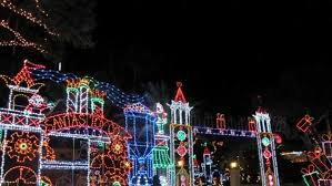 Michigan travel merry images Marshall 39 s merry mile light display michigan jpg