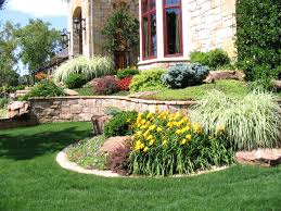 Landscape Ideas For Backyard by Landscaping Ideas Front Yard Kansas City Design Plan Backyard