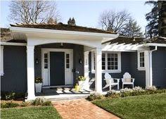 exterior house colors for ranch style homes extreme ranch house makeovers fairway ranch renovation entry